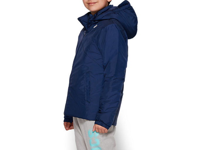 Side view of B INSULATED JACKET, PEACOAT