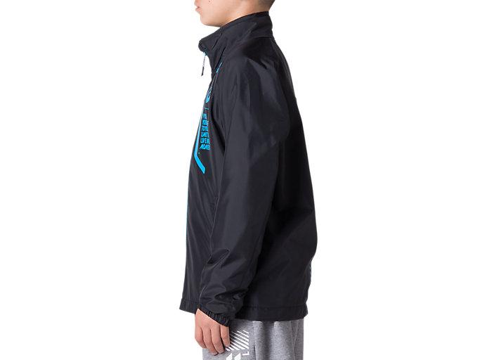 Side view of Jr.LIMO®裏トリコットブレーカージャケット, パフォーマンスブラック