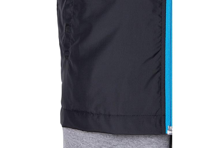 Alternative image view of Jr.LIMO®裏トリコットブレーカージャケット, パフォーマンスブラック