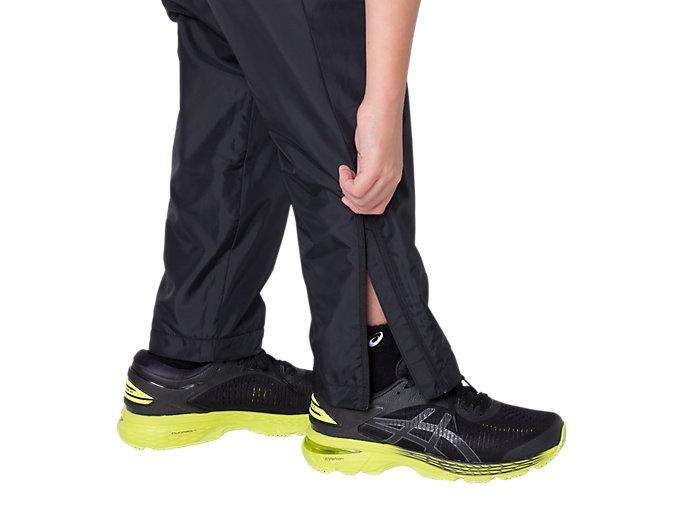 Alternative image view of Jr.LIMO®裏トリコットブレーカーパンツ, パフォーマンスブラック