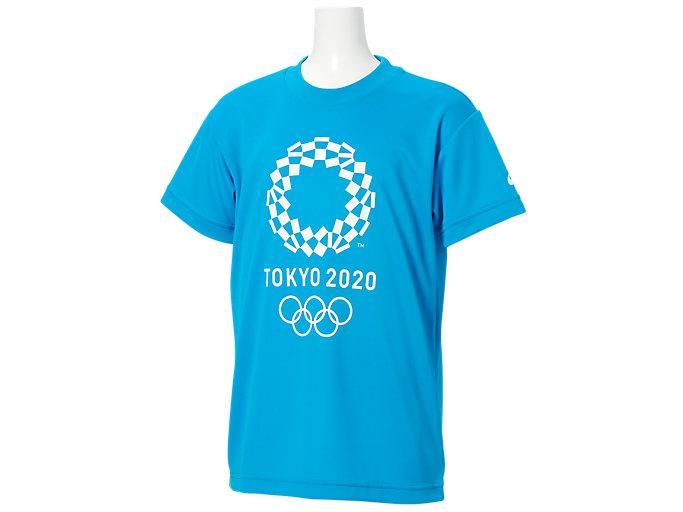 Tシャツ Kids(東京2020オリンピックエンブレム), O.ブルー