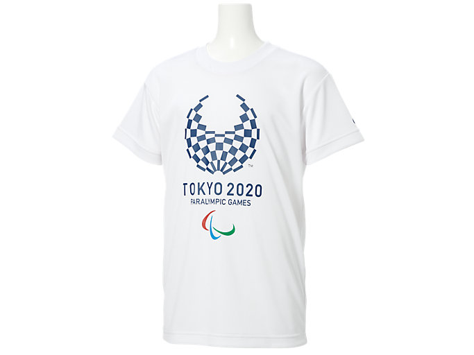 Tシャツ Kids(東京2020パラリンピックエンブレム), ホワイト
