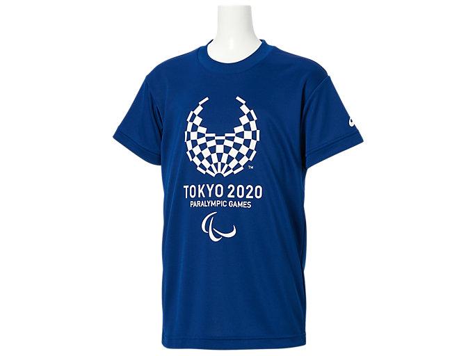 Tシャツ Kids(東京2020パラリンピックエンブレム), EMネイビー