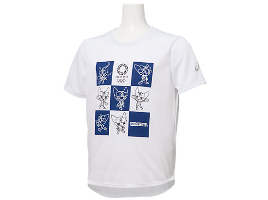 Tシャツ Kids(東京2020オリンピックマスコット), ホワイト