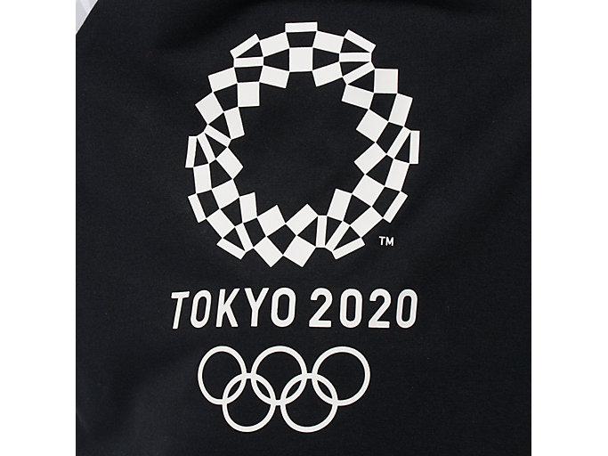 Alternative image view of KIDS Tシャツ(東京2020オリンピックエンブレム), ブラック×ホワイト