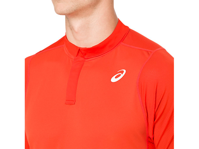 Alternative image view of GEL-COOL POLO-SHIRT, CHERRY TOMATO