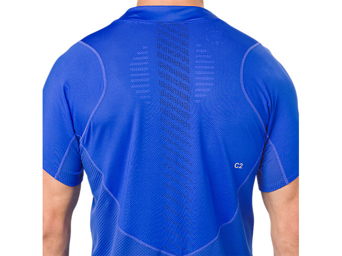Alternative image view of ​ GEL-COOL SS TOP, ILLUSION BLUE