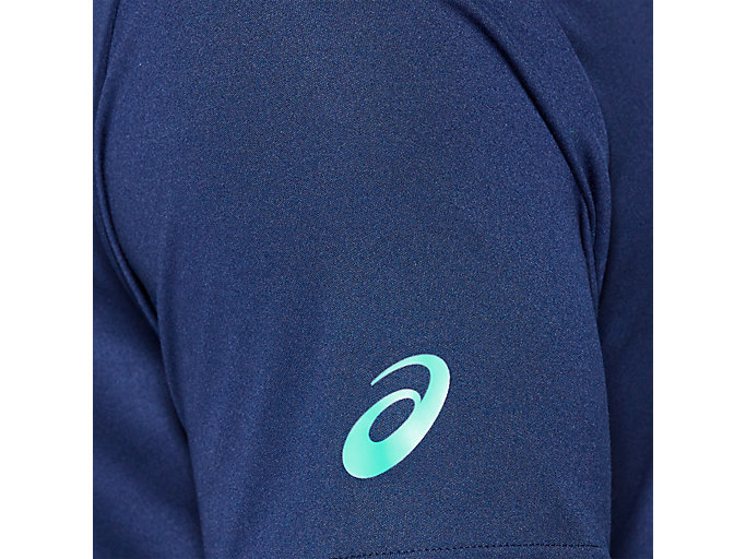 Alternative image view of PRACTICE SS TOP, BLUE EXPANSE