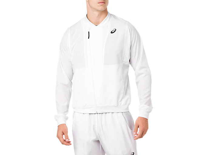 PRACTICE JACKET, BRILLIANT WHITE