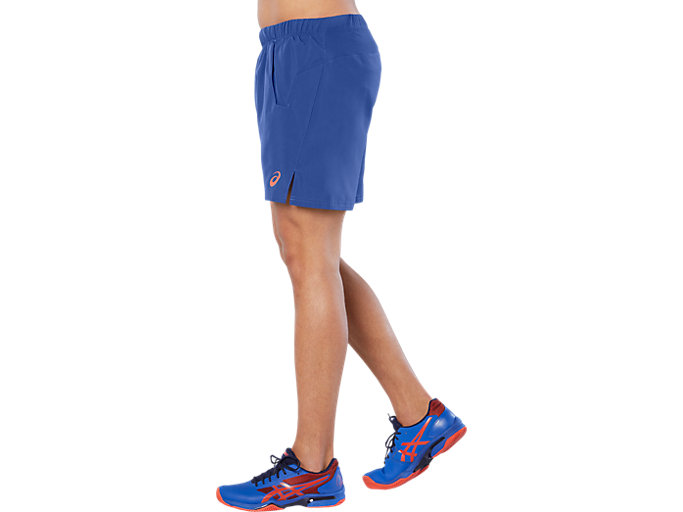 Side view of CLUB 7IN SHORT, ASICS BLUE