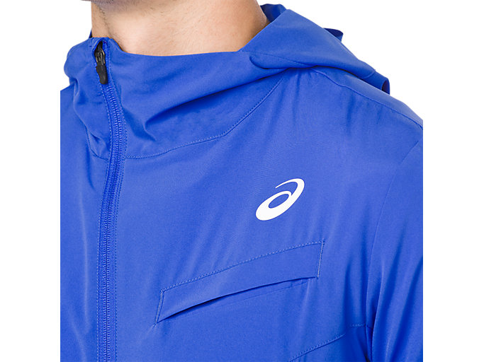 Alternative image view of TENNIS WOVEN JACKET, ILLUSION BLUE