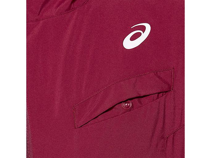 Alternative image view of TENNIS WOVEN JACKET, CHILI FLAKE