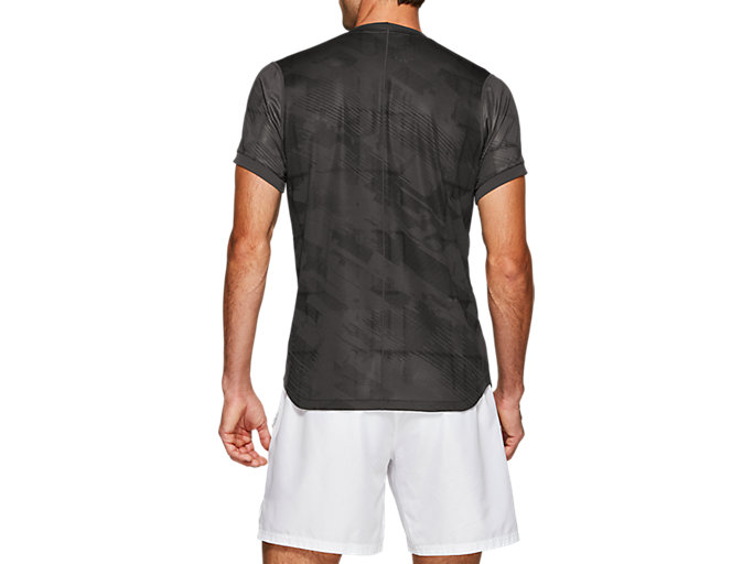 Back view of Club Graphic Short Sleeve Top