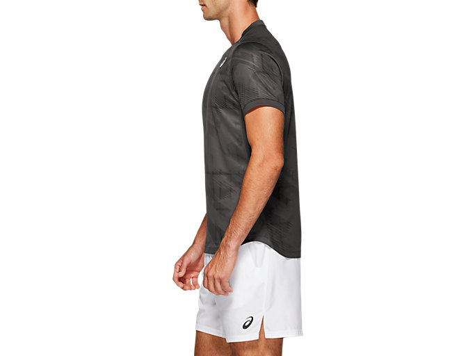 Side view of Club Graphic Short Sleeve Top
