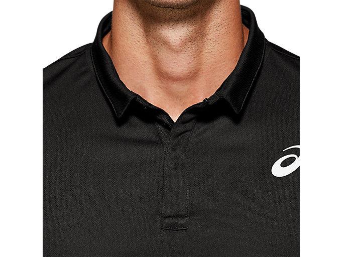 Alternative image view of CLUB POLO-SHIRT, PERFORMANCE BLACK