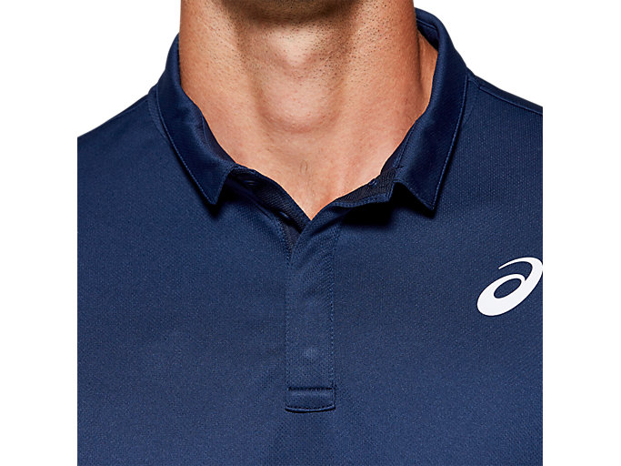 Alternative image view of CLUB POLO-SHIRT, BLUE EXPANSE