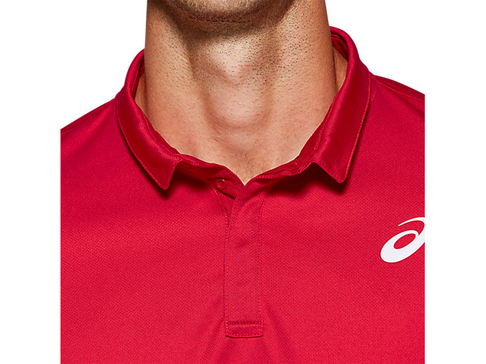 Alternative image view of CLUB POLO-SHIRT, SPEED RED
