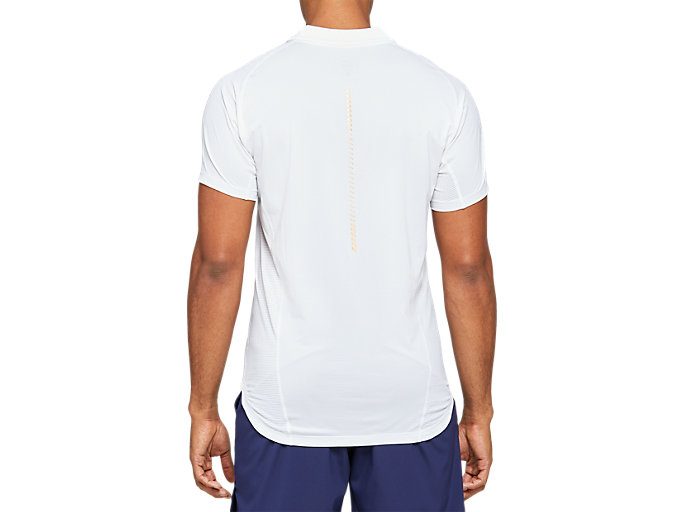 Back view of Tennis Polo