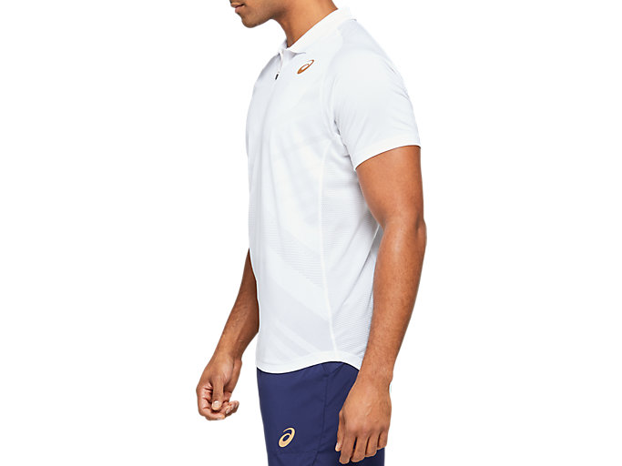 Side view of Tennis Polo