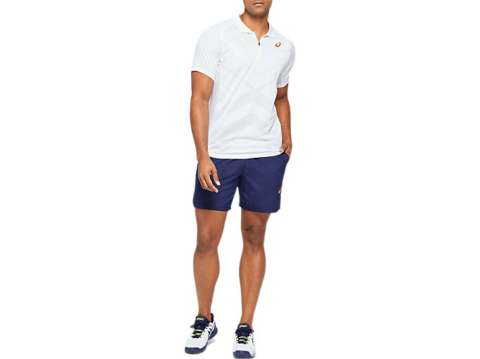 Front Top view of Tennis Polo