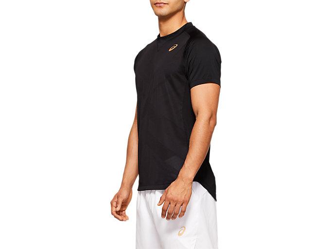 Side view of Tennis Short Sleeve Top