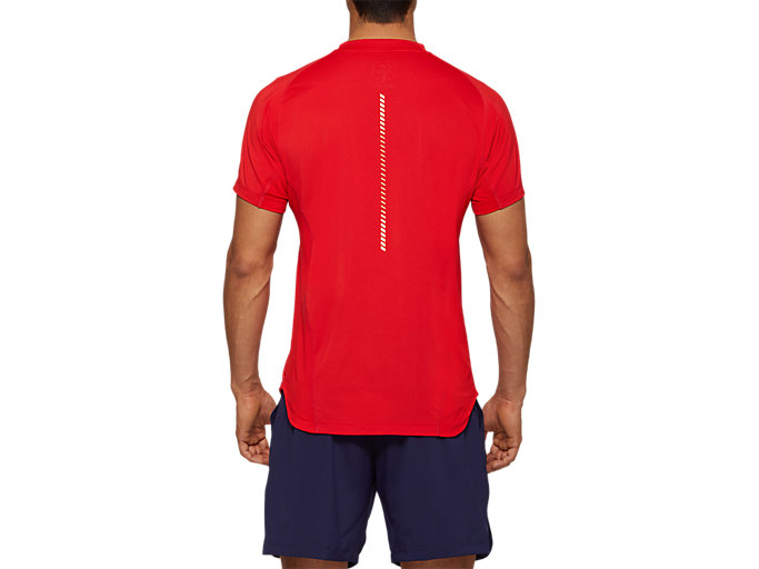 Back view of Tennis Short Sleeve Top