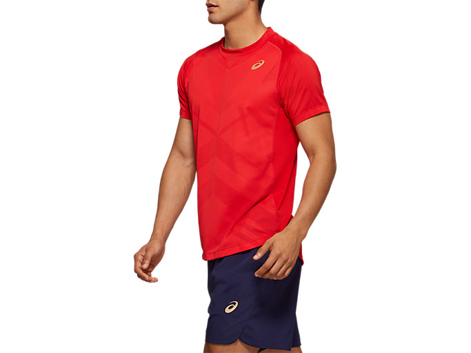 Side view of Tennis Short Sleeve Top