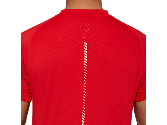 TENNIS M SS TOP CLASSIC RED
