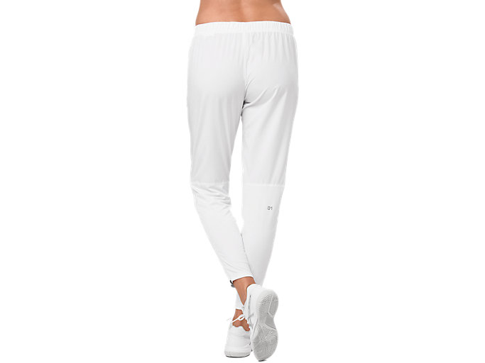 Back view of PRACTICE PANT, BRILLIANT WHITE