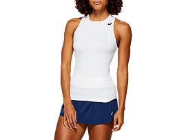 GEL-COOL TANK TOP, BRILLIANT WHITE