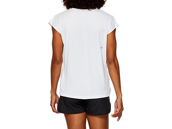 印花短袖T恤 BRILLIANT WHITE