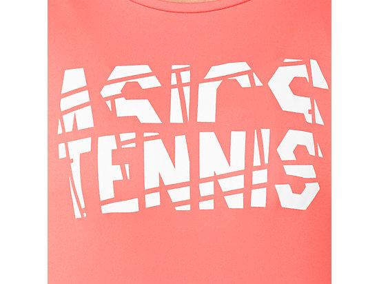 女網球印花T恤 PAPAYA