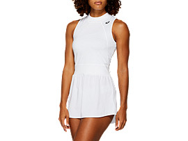 Front Top view of GEL-COOL™ DRESS, BRILLIANT WHITE