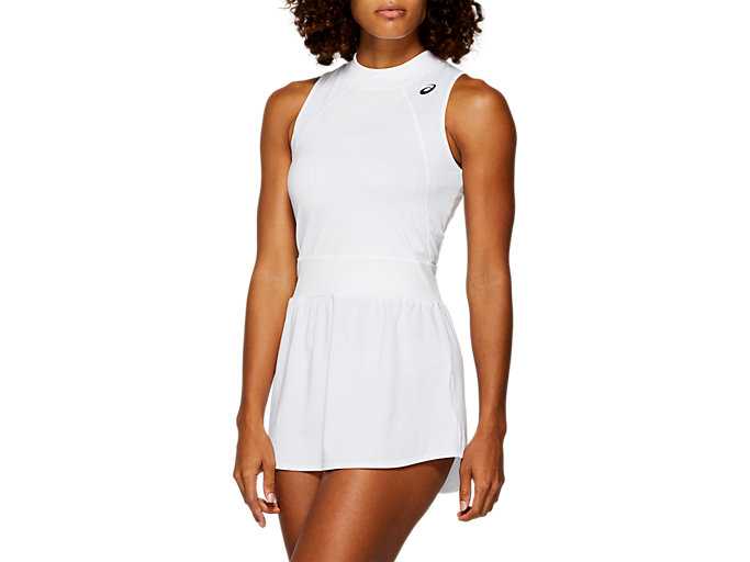 Front Top view of GEL-COOL DRESS​, BRILLIANT WHITE