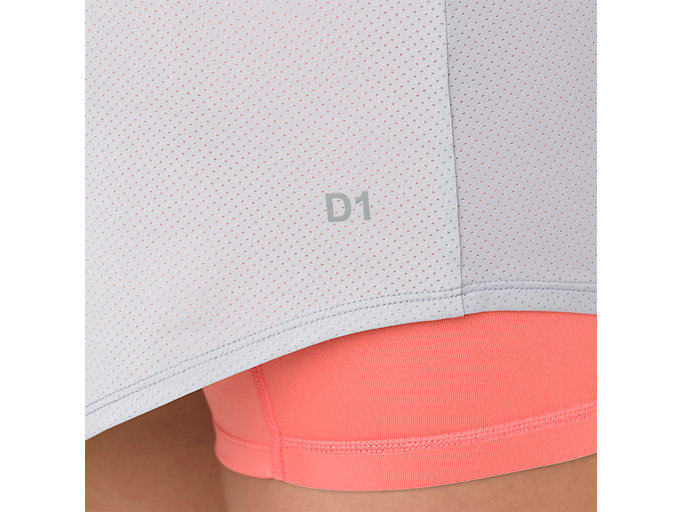 Alternative image view of TENNIS SKORT, MID GREY