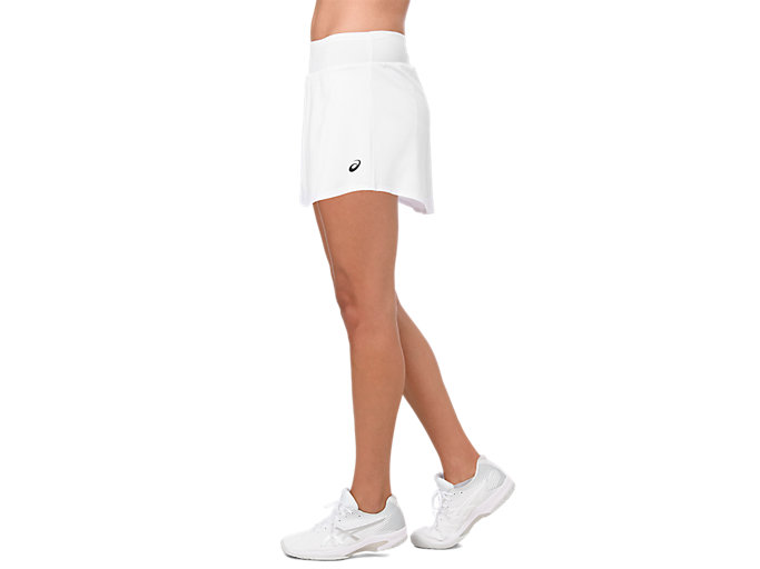 Side view of TENNIS SKORT, BRILLIANT WHITE
