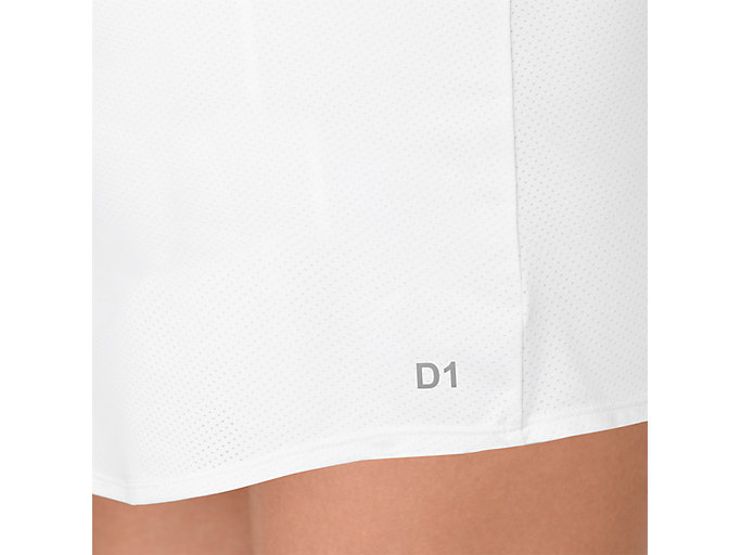 Alternative image view of TENNIS SKORT, BRILLIANT WHITE