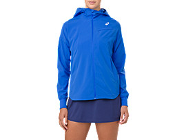 TENNIS WOVEN JACKET, ILLUSION BLUE
