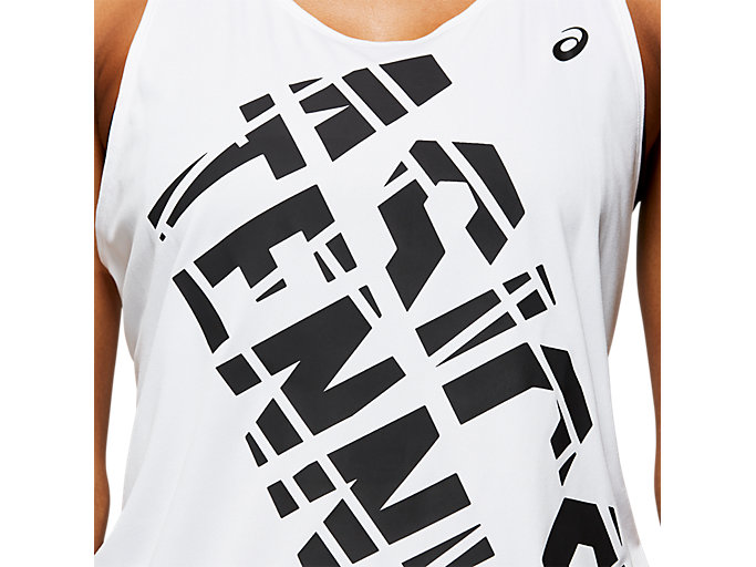 Alternative image view of PRACTICE GRAPHIC TANK, BRILLIANT WHITE