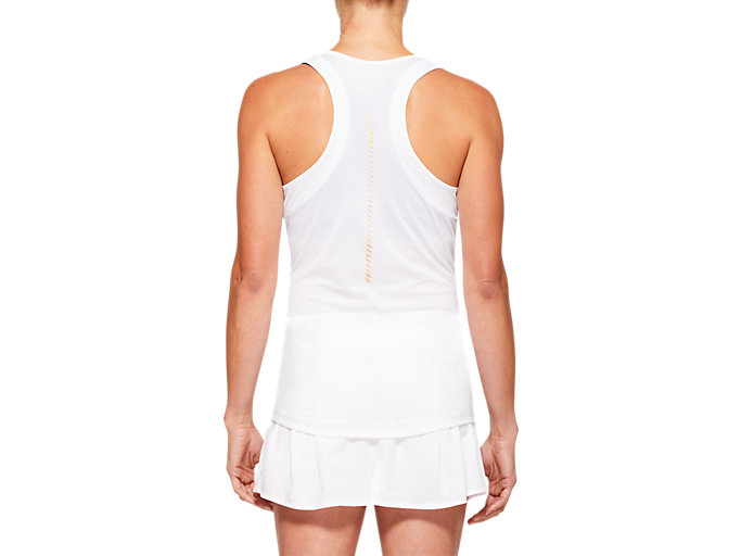 Back view of Tennis Tank