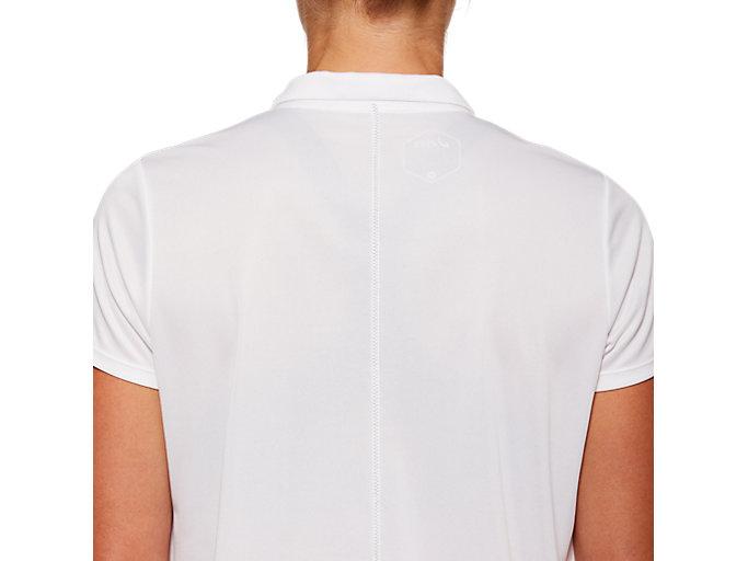 Alternative image view of W'Sポロシャツ, ブリリアントホワイト
