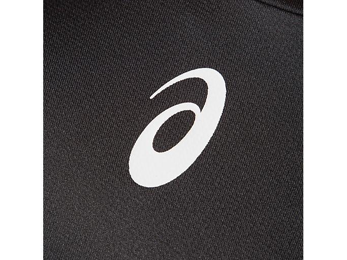 Alternative image view of W'Sグラフィックショートスリーブトップ, パフォーマンスブラック×エレクトリックブルー