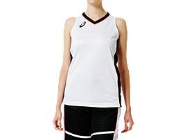 W'Sゲームシャツ, ブリリアントホワイト×パフォーマンスブラック