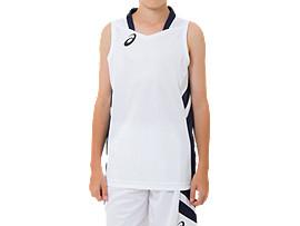 Jr.ゲームシャツ, ブリリアントホワイト×ピーコート
