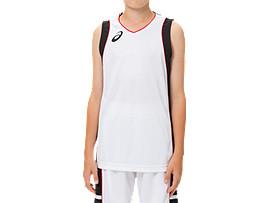 Jr.ゲームシャツ, ブリリアントホワイト×パフォーマンスブラック