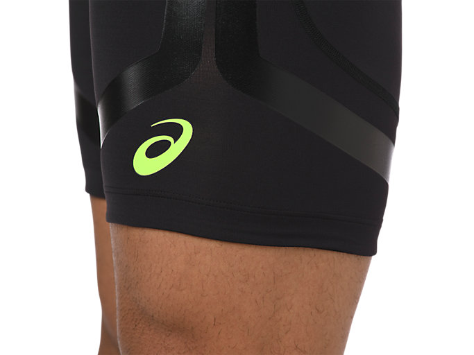 Alternative image view of MOVING SPRINTER TIGHT, PERFORMANCE BLACK/HAZARD GREEN