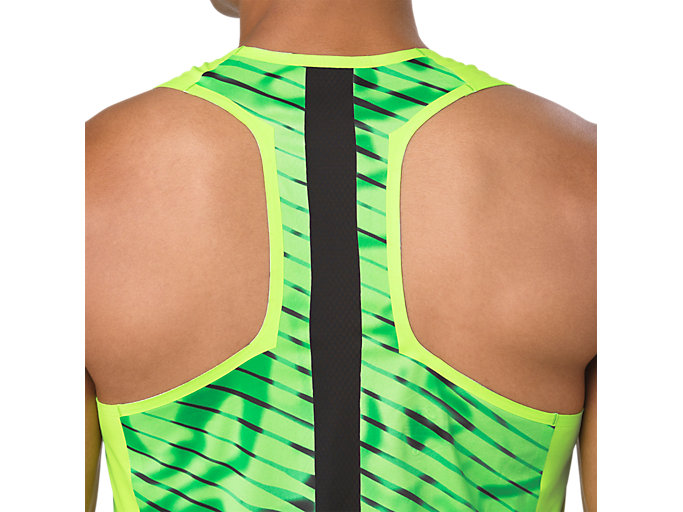 Alternative image view of SINGLET, HAZARD GREEN