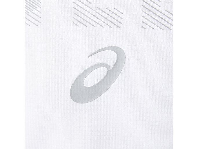Alternative image view of よせがきロングスリーブトップ, ブリリアントホワイト