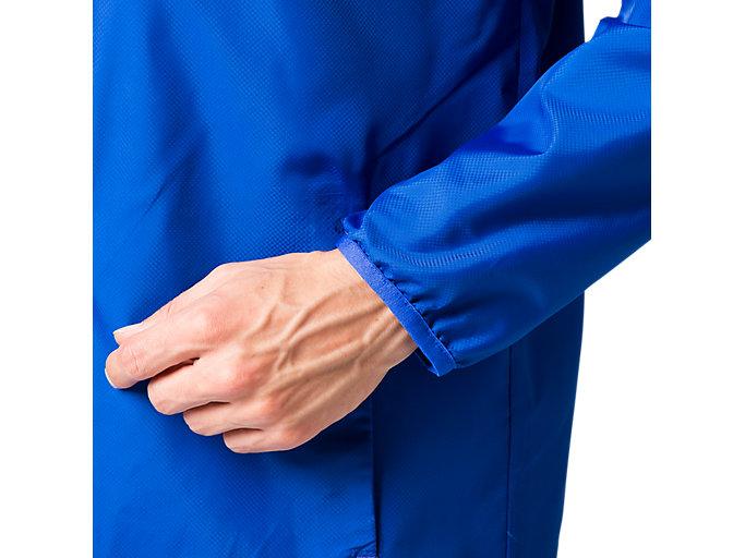 Alternative image view of 総裏メッシュウインドブレーカージャケット, アシックスブルー