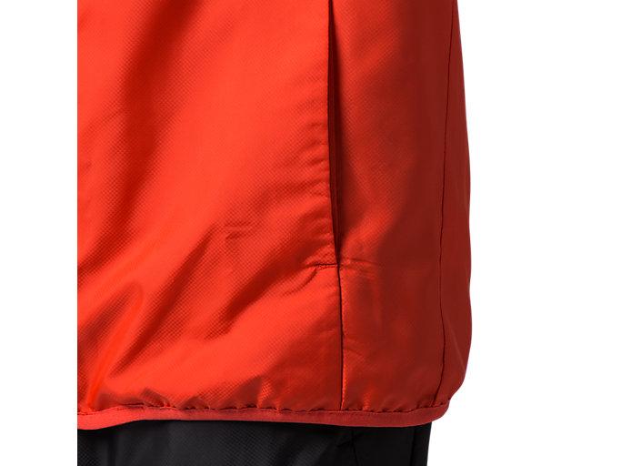 Alternative image view of 総裏メッシュウインドブレーカージャケット, クラシックレッド